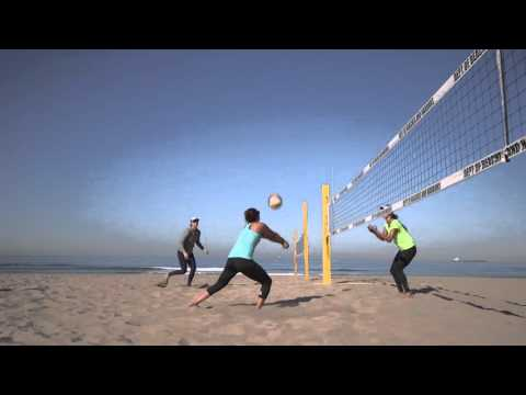 Rox Volleyball & Brooke Sweat in Manhattan Beach, California