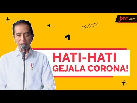 Jokowi:Yang Paling Penting Kita Waspada Terhadap Virus Corona