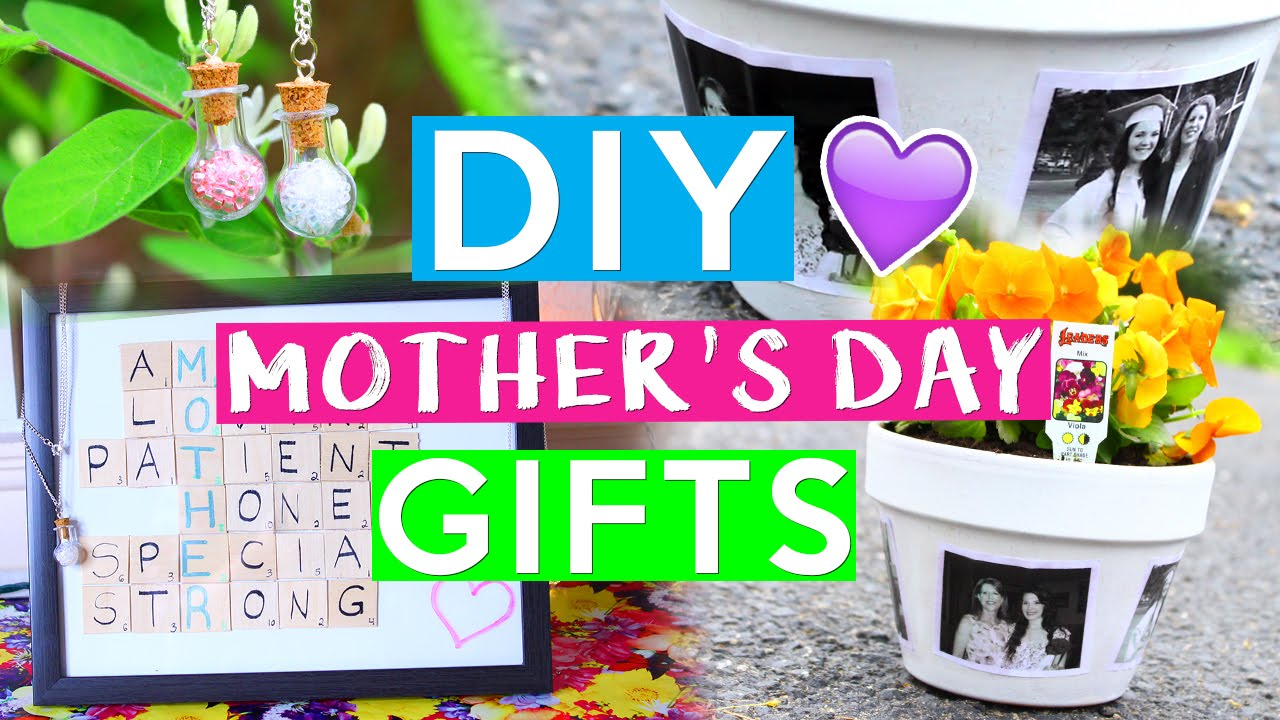 Diy Mother 39 S Day Gifts Last Minute Gift Ideas Youtube