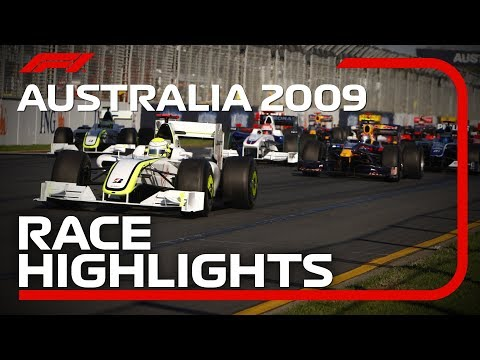 Brawn GP Win Debut Race In Melbourne | 2009 Australian Grand Prix Highlights