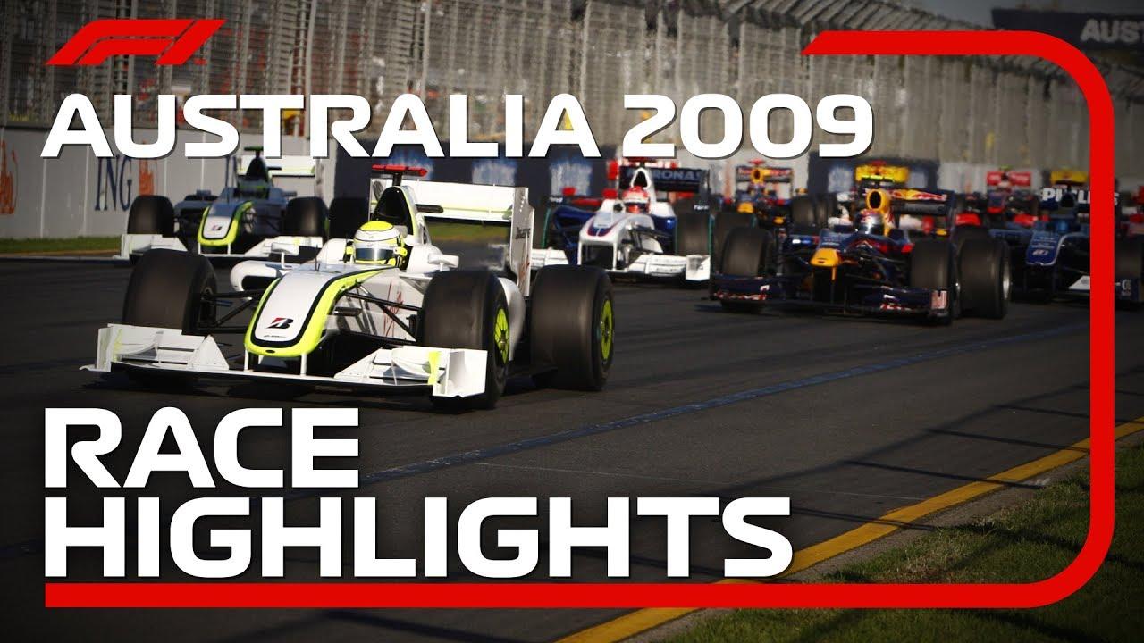 Brawn GP Win Debut Race in Melbourne | 2009 Australian Grand Prix Highlights
