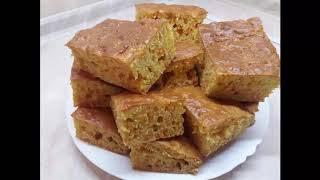 Морковный пирог, простой и вкусный )))