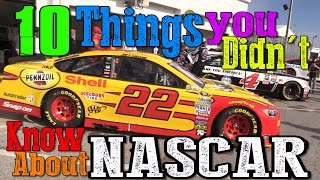 10 Things You Didn't Know About NASCAR