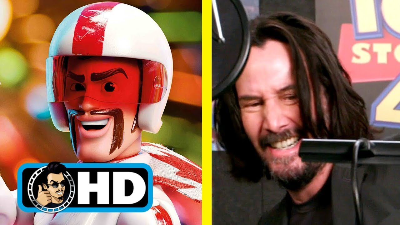 Keanu Reeves Toy Story 4 Voice Over B Roll Clip Youtube