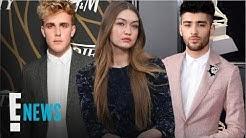 "Gigi Hadid Shades ""Irrelevant"" Jake Paul After He Disses Zayn | E! News"