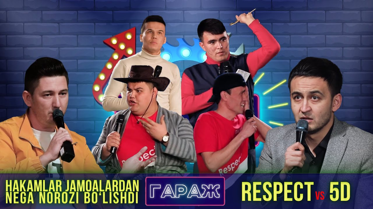 Garaj Shou 2-mavsum 2-o'yin. Respect vs 5D // Гараж шоу 2-мавсум 2-ўйин. Респект vs 5Д