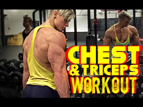 Full Chest & Triceps Workout W/ Fabian GL