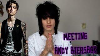 Meeting Andy Biersack