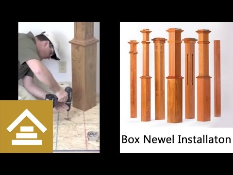 How To Connect Handrail To A Newel Post Using The Slip