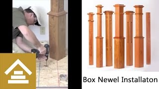 How To Install A Box Newel