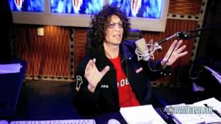 Howard Stern's Bathroom problems