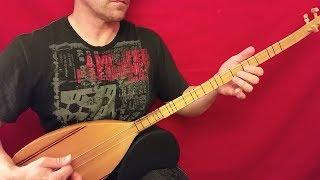 Stringed Things: BAGLAMA / SAZ (long-necked bağlama; Turkish stringed instrument)