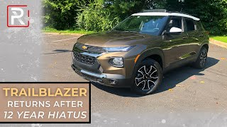 The 2021 Chevrolet Trailblazer is Chevy's New Least Expensive SUV
