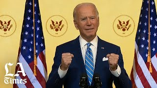 Biden optimistic about the country's future in Thanksgiving-eve address