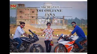 Oh oh jane jaana || cute love story || Mk creation||