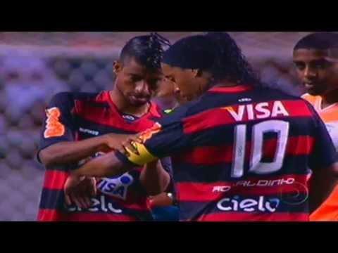 .:: 1º jogo de Ronaldinho::. Flamengo 1x0 Nova Iguaçu - Taça Guanabara 2011 - 5ª Rodada