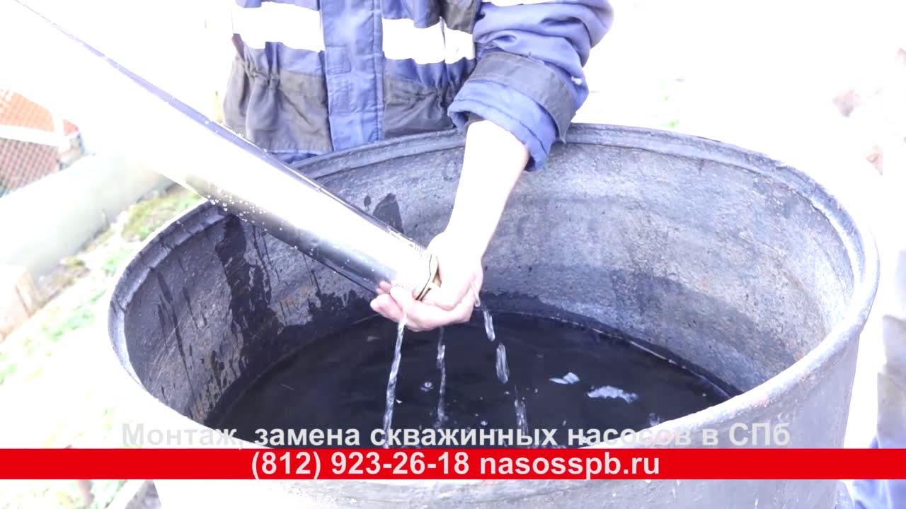 Ремонт насоса скважинного своими руками