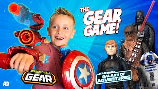 Gear Game: Marvel Avengers NERF Assembler Gear & Star Wars Edition! KIDCITY