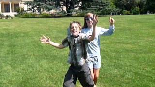 Axel et Lolal au Parc Bourran