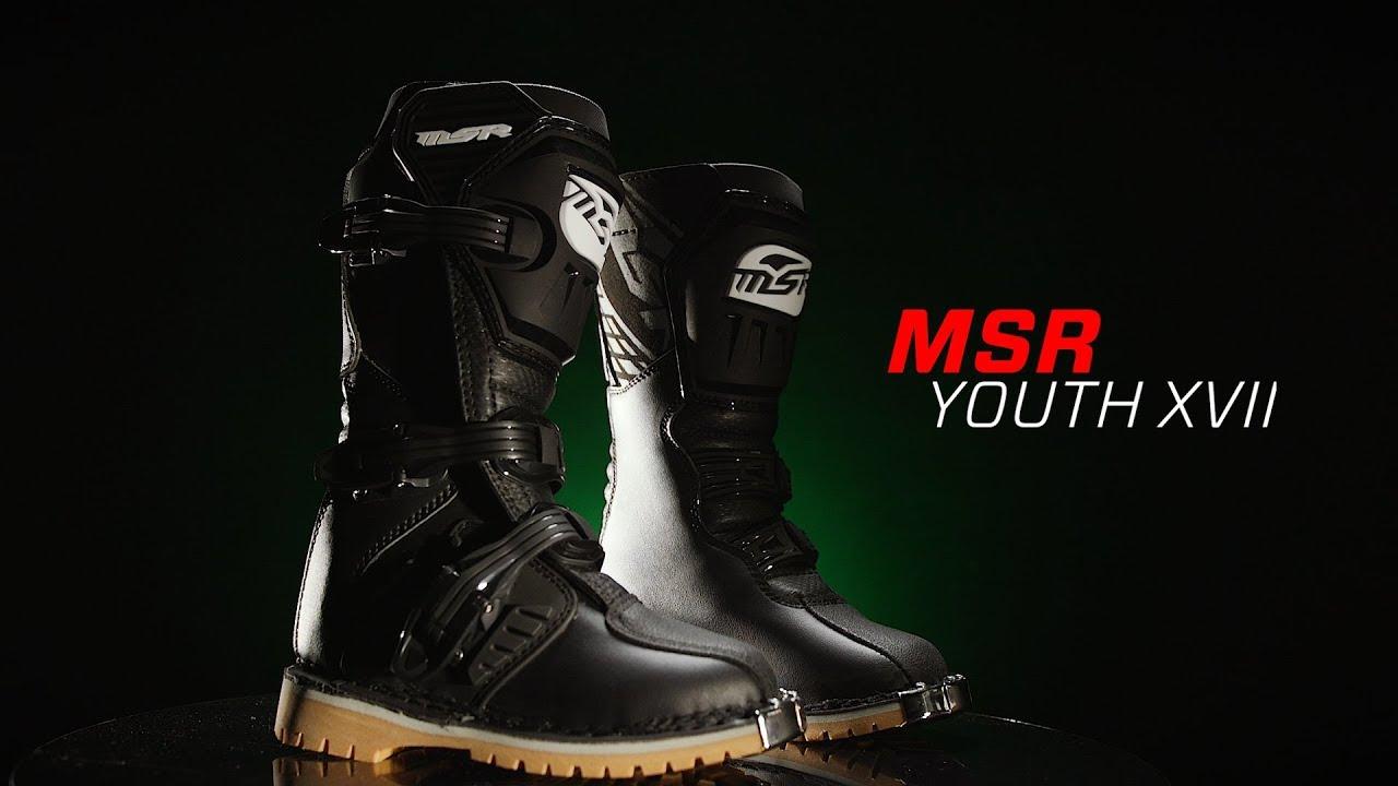 Bottes Noir Enfant MSR VXII cross 54AL3jR
