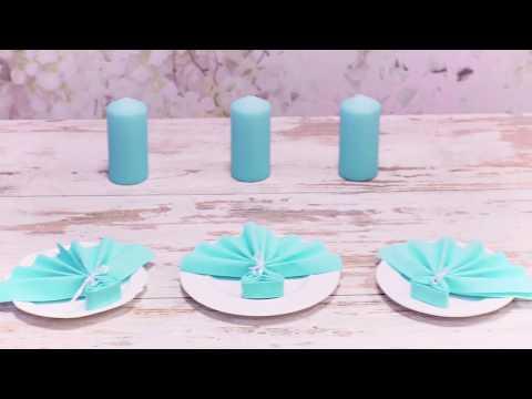 DIY czyli jak składać serwetki aby prezentowały się jak najpiękniej!