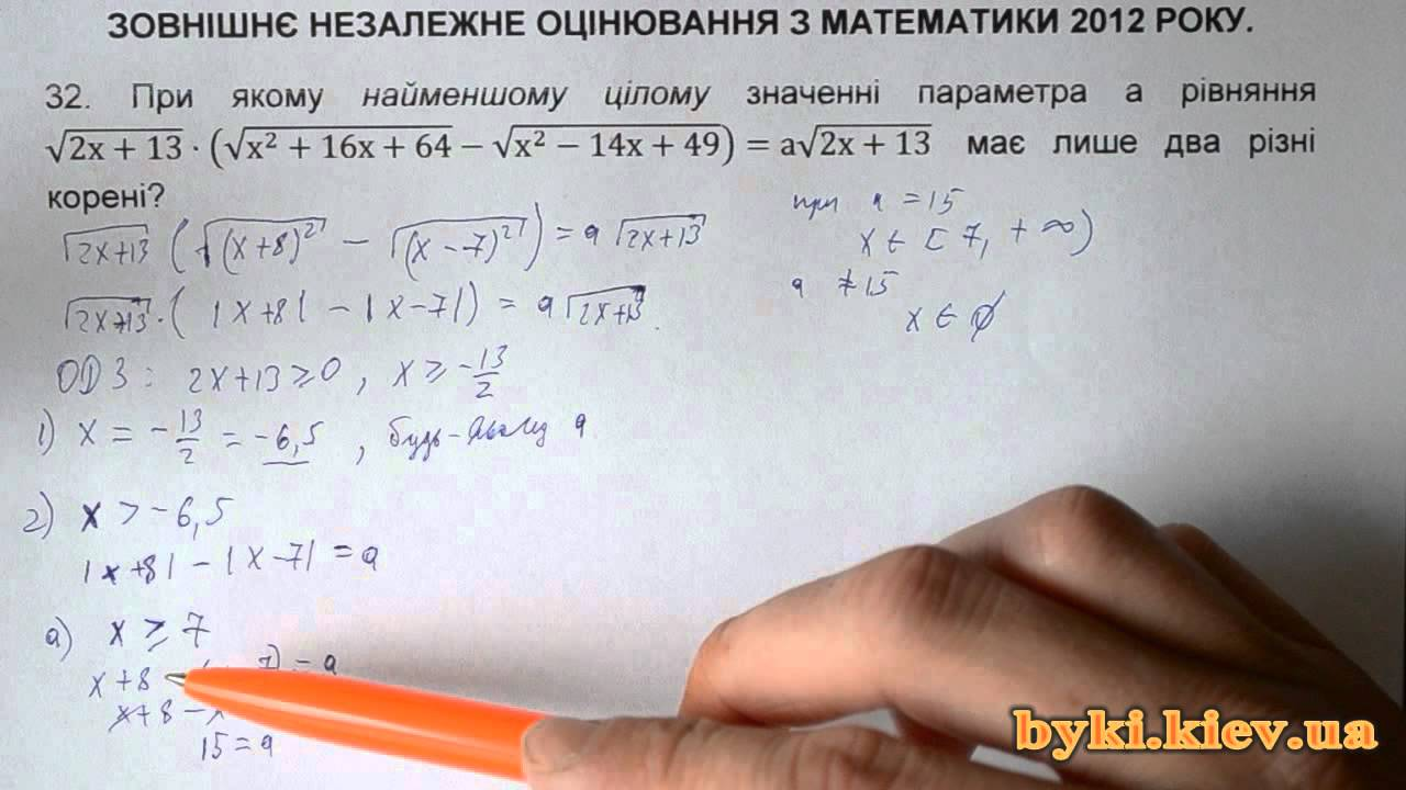 Решения задачи по егэ математике 2012 задачи с решением по физхимии