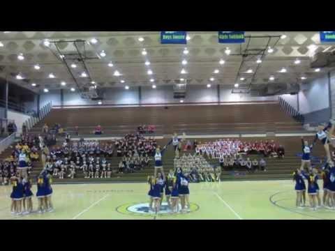 Castle North Middle School Cheerleaders - 2015 Exhibition