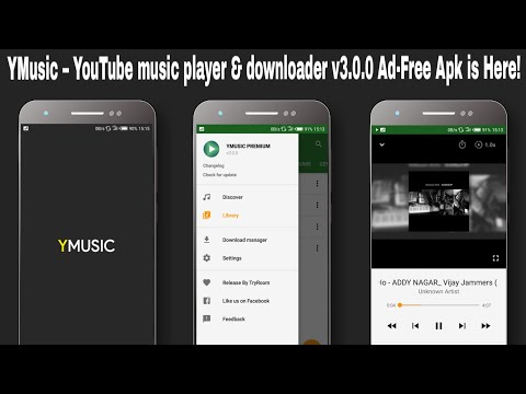 YMusic – YouTube music player & downloader v3 0 0 Ad-Free