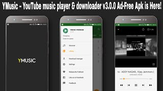 Download lagu YMusic – YouTube music player & downloader v3.0.0 Ad-Free Apk is Here!