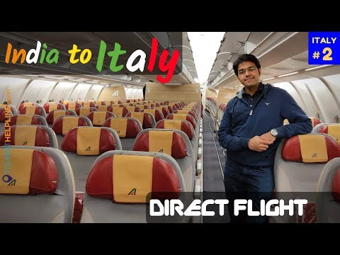Alitalia: Delhi to Rome Non-stop | Rome Airport: Immigration, Schengen Visa, Tourist Sim, Transfer