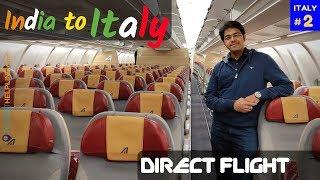 Alitalia: Delhi to Rome Non-stop