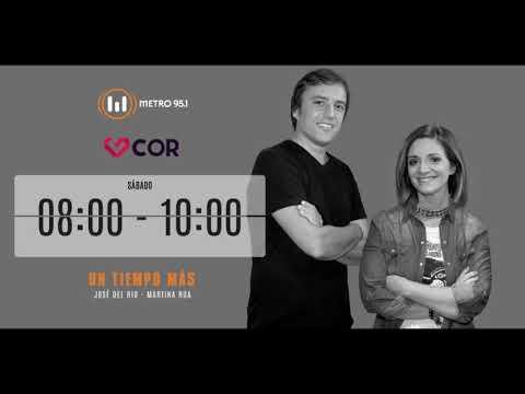 Entrevista a COR en Radio Metro - Un Tiempo Más (Enero/2018)