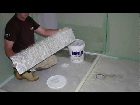 How To Waterproof A Shower Area In Australia Youtube