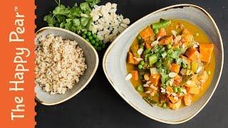Vegetable Korma - Indian Vegetarian Recipe - The Happy Pear