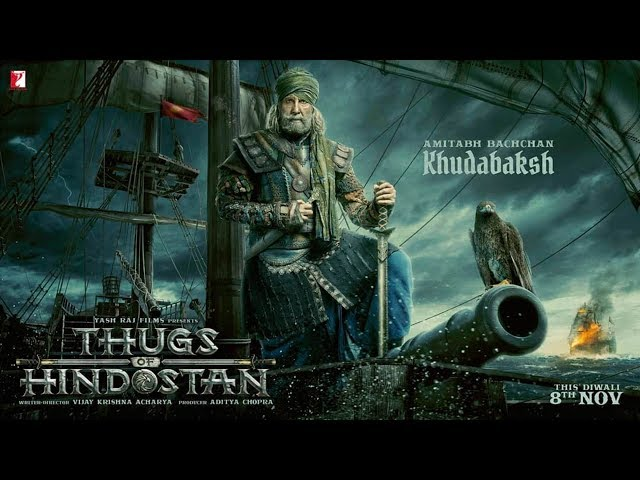 Thugs Of Hindostan Motion Poster Out | First Look Of Amitabh Bachchan As Khudabaksh | Aamir Khan