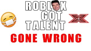 Going on a Talent Show... GONE WRONG!!!   Roblox #2
