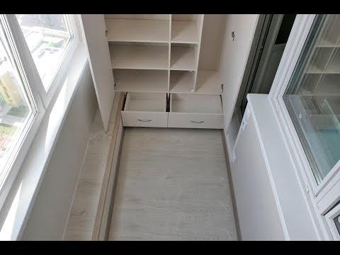 Серия дома П-44ТМ лоджия сапог ремонт под ключ встроенная мебель