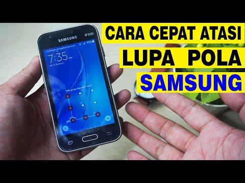 Samsung J2 Lupa Pola Tanpa hapus data.