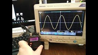 Tektronix MDO-3102. Тест мощности Baofeng UV-5R