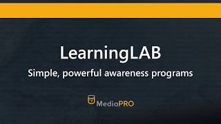 LearningLAB by MediaPRO