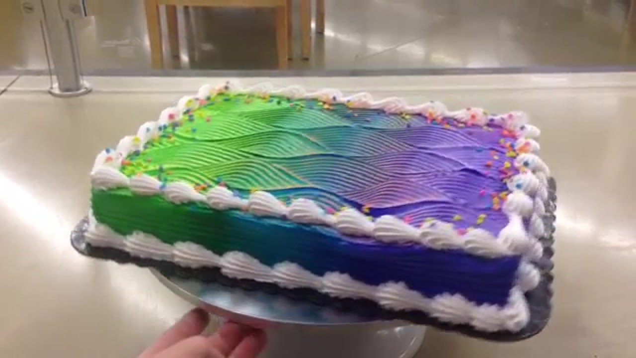 Color Changing Cake Tutorial Youtube