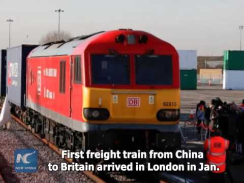 """Relations with China """"more important than ever"""" ahead of Brexit: London business  leader"""