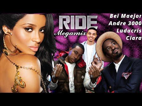 Ciara  Ride Megamix