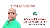 Arvind Singh Yadav ,SR institute for Mathematics - YouTube
