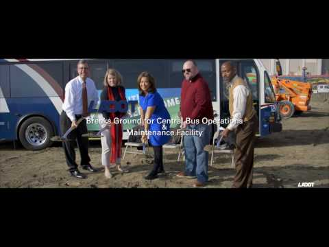 LADOT Transit's Bus Operations And Maintenance Facility Groundbreaking Ceremony