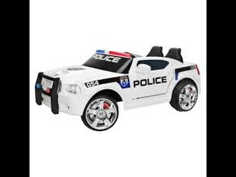 police ride on car kids riding police car police car toy for kids