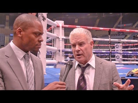 EXCLUSIVE: Jim Lampley WEIGHS IN on Anthony Joshua vs Deontay Wilder