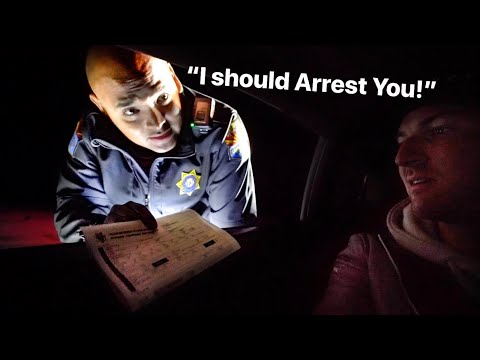 ARIZONA POLICE DEBATES ON ARRESTING LAMBORGHINI  OWNER...