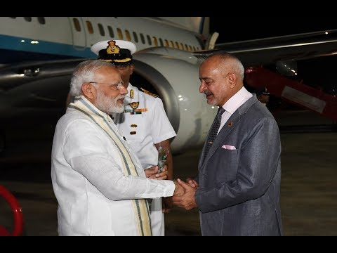 PM arrives in Port Blair on two day visit to Andaman and Nicobar Islands