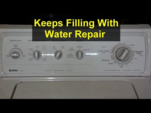washing machine making noise when filling with water